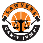 "charity basketball event logo (name with logo is ""lawyers can't jump"") - Entry #3"