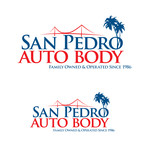 San Pedro Auto Body Logo - Entry #45