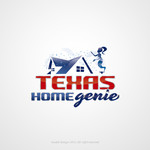 Texas Home Genie Logo - Entry #105