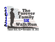 The Forever Family 5K Logo - Entry #4