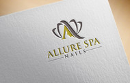 Allure Spa Nails Logo - Entry #156