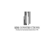 KBK constructions Logo - Entry #40