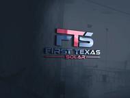 First Texas Solar Logo - Entry #112