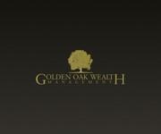Golden Oak Wealth Management Logo - Entry #14
