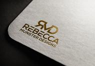 Rebecca Munster Designs (RMD) Logo - Entry #226