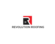 Revolution Roofing Logo - Entry #410