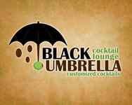 Black umbrella coffee & cocktail lounge Logo - Entry #170