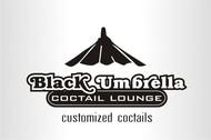 Black umbrella coffee & cocktail lounge Logo - Entry #144