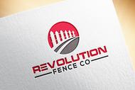 Revolution Fence Co. Logo - Entry #104