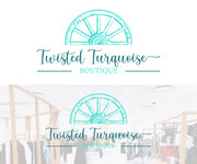 Twisted Turquoise Boutique Logo - Entry #82