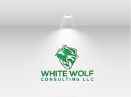 White Wolf Consulting (optional LLC) Logo - Entry #156