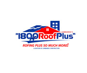 1-800-Roof-Plus Logo - Entry #67
