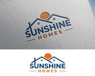 Sunshine Homes Logo - Entry #180