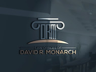 Law Offices of David R. Monarch Logo - Entry #31