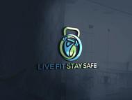 Live Fit Stay Safe Logo - Entry #20