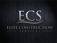 Elite Construction Services or ECS Logo - Entry #340