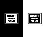 Right Now Semi Logo - Entry #155