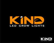 Kind LED Grow Lights Logo - Entry #41