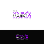 """The Synergy Project"" and place the word ""season three"" underneath in smaller front either as "" season 3"" or ""season three"" Logo - Entry #86"