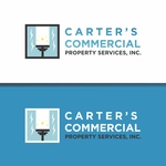 Carter's Commercial Property Services, Inc. Logo - Entry #4