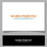 When Pigs Fly Photography Logo - Entry #42