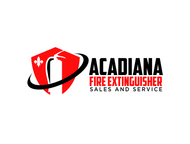 Acadiana Fire Extinguisher Sales and Service Logo - Entry #305