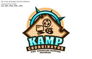 KAMPcoordinator : Kids' Adventure Mapping Program   Logo - Entry #25