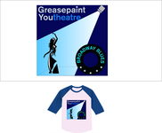 Greasepaint Youtheatre Logo - Entry #92