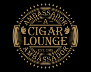 Ambassador Cigar Lounge Logo - Entry #12