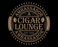 Ambassador Cigar Lounge Logo - Entry #12