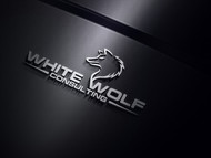 White Wolf Consulting (optional LLC) Logo - Entry #147