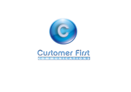 Customer First Communications Logo - Entry #73