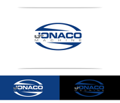 Jonaco or Jonaco Machine Logo - Entry #275