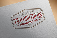 Two Brothers Roadhouse Logo - Entry #152