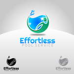 Effortless Pool Service Logo - Entry #6