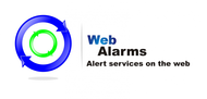 Logo for WebAlarms - Alert services on the web - Entry #104