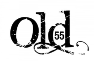 """""""OLD 55"""" - mid-century vintage furniture and wares store Logo - Entry #63"""