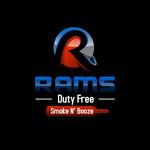 Rams Duty Free + Smoke & Booze Logo - Entry #355