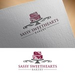 Sassy Sweethearts Bakery Logo - Entry #71
