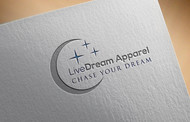 LiveDream Apparel Logo - Entry #124