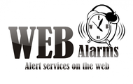 Logo for WebAlarms - Alert services on the web - Entry #24