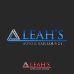 Leah's auto & nail lounge Logo - Entry #186