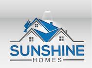 Sunshine Homes Logo - Entry #516