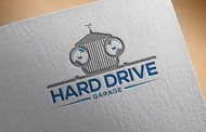 Hard drive garage Logo - Entry #375