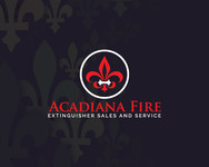 Acadiana Fire Extinguisher Sales and Service Logo - Entry #182