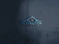Revolution Roofing Logo - Entry #124