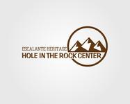 Escalante Heritage/ Hole in the Rock Center Logo - Entry #91