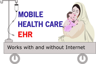 Mobile Healthcare EHR Logo - Entry #125
