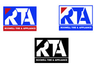 Roswell Tire & Appliance Logo - Entry #166