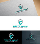 White Wolf Consulting (optional LLC) Logo - Entry #190
